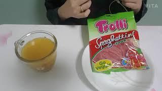 트롤리 스파게티 젤리와 트윅스 먹기! #mukbang#…