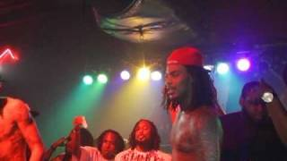 Waka Flocka KISSES GROUPIE IN THE MOUTH AND JUMPS OFF STAGE TO FIGHT A HATER! SHOW TURNS INTO BRAWL