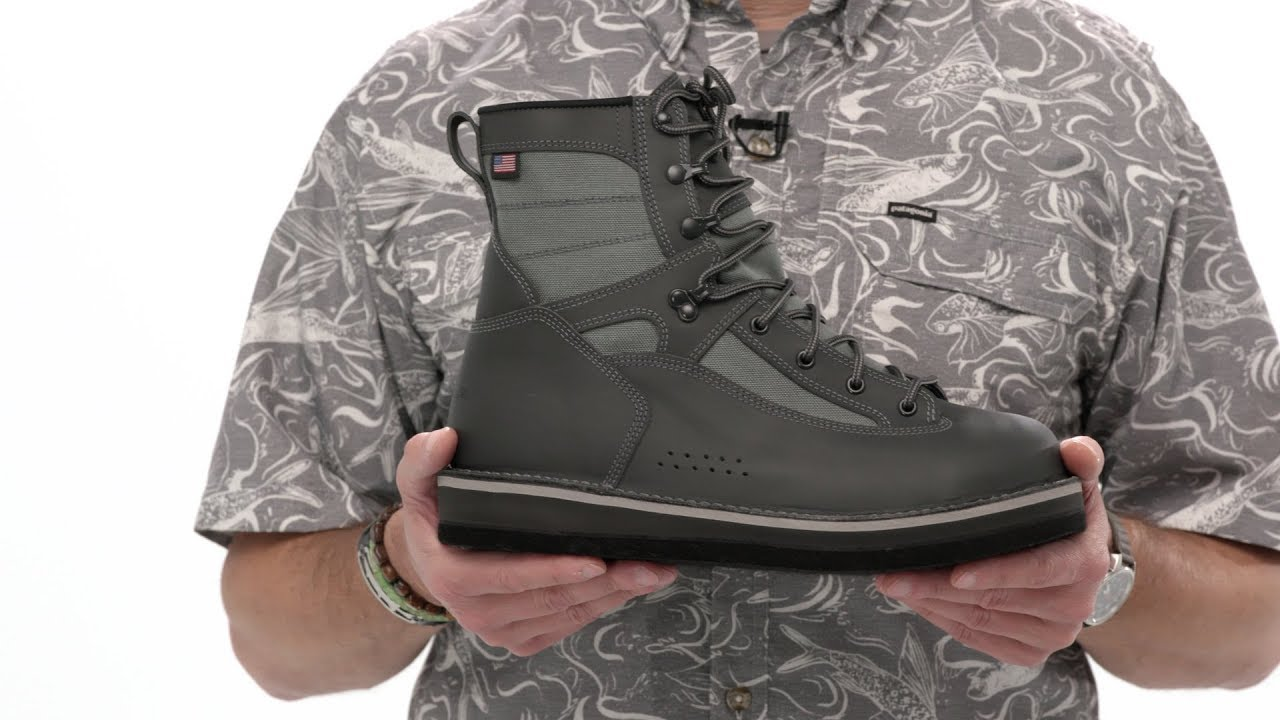 21f6b3d4 Patagonia Foot Tractor Wading Boots - Aluminum Bar (Built By Danner)