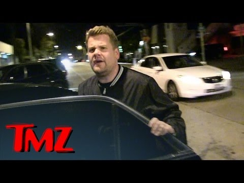 James Corden Says He Wasn't Snubbed By Rolling Stones | TMZ