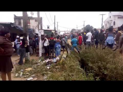 Douala-accident à bedi ce matin 10/012017