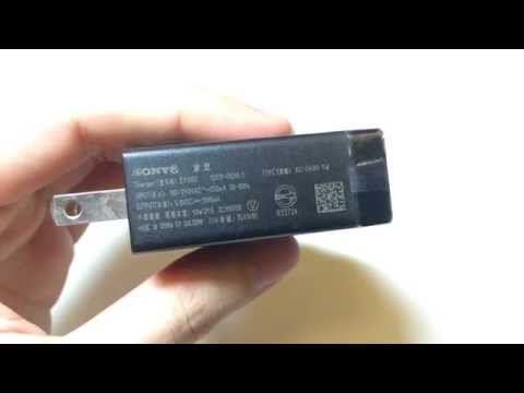 What Original Genuine Sony EP880 USB Quick Charger Sony Xperia T TX US Plug looks like?