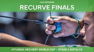 Live Session: Recurve Finals | Antalya 2018 Hyundai Archery World Cup S2