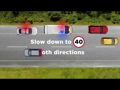 40km/h around stopped emergency vehicles - Campaigns - NSW