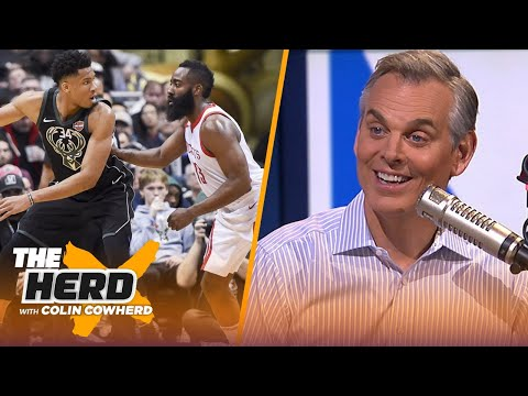 Colin Cowherd ranks his Top 10 NBA players this season | NBA | THE HERD