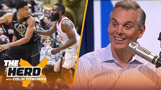 Colin Cowherd ranks his Top 10 NBA players this season | NBA | THE HERD