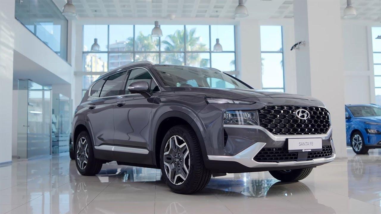 Bir Bakışta Yeni Hyundai SANTA FE Hibrit.