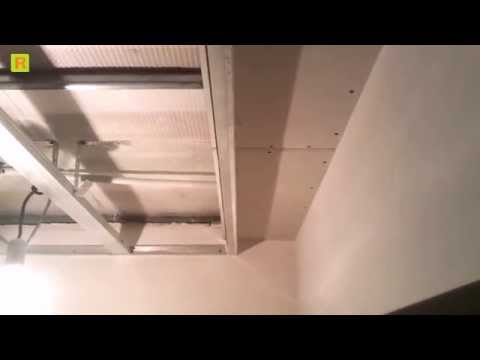 Под шторная ниша (гипсокартон) стройка