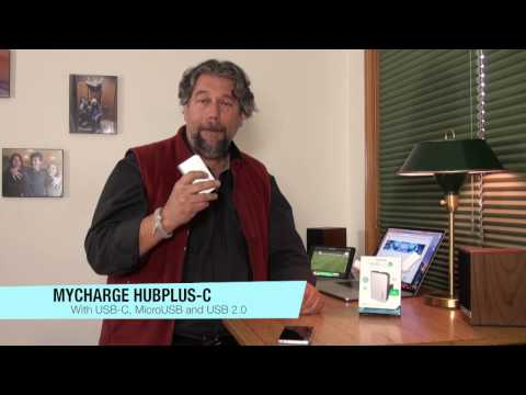 MyCharge HubPlus-C Plug-in Portable Device Charger - REVIEW