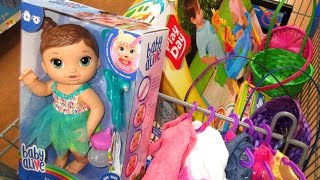 BABY ALIVE HAUL At Walmart & Easter Shopping! New Baby Alive!
