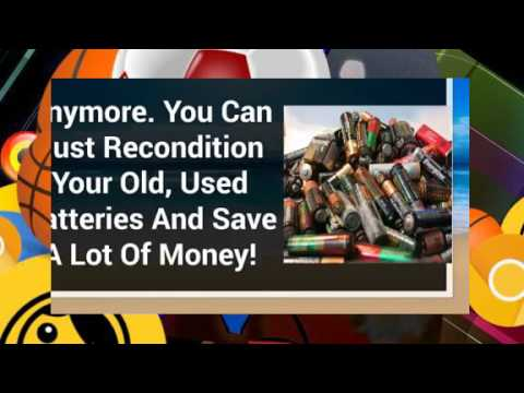 How To Restore Cell Phone Battery Life, Recondition Lead Acid Battery, Lead Acid Battery Restore