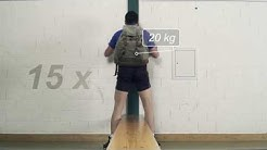 Sporttest der Aufnahmeprüfung Polizist/in, Botschaftsschützer/in