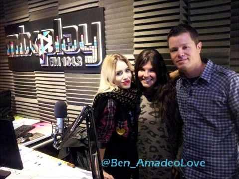 Lali Espósito en radio MixPlay MAR DEL PLATA (24-04-14)