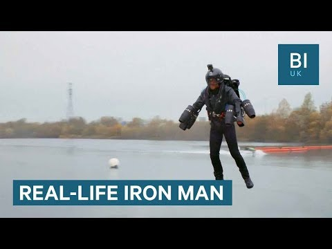 The real-life 'Iron Man' just broke a flying suit speed record