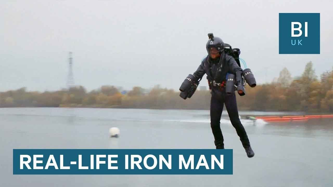 Real-Life 'Iron Man' Just Broke A Flying Suit Speed Record