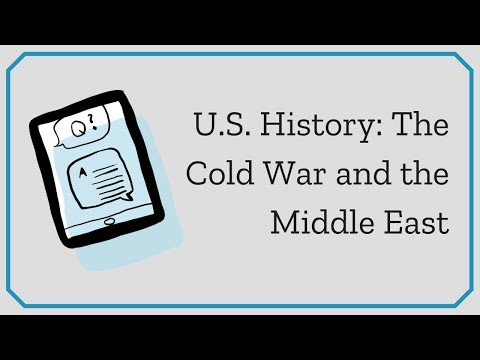 U.S. History, Volume 2: The Cold War and the Middle East