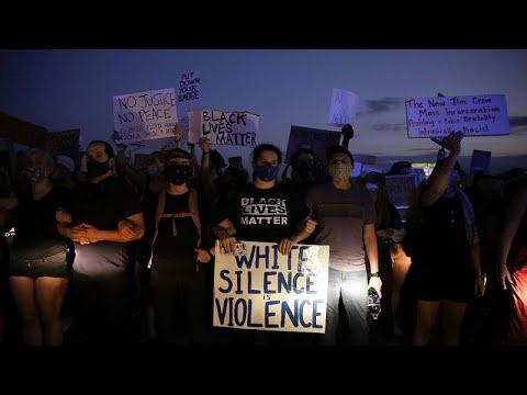 Новые протесты в США