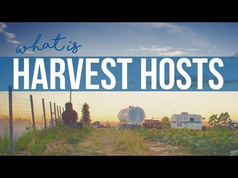 What Is Harvest Hosts // Q&A for Full Time RV Living