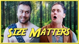 Size Matters - Epic NPC Man (Bodger thinks his exclamation mark is bigger than gregs) | VLDL