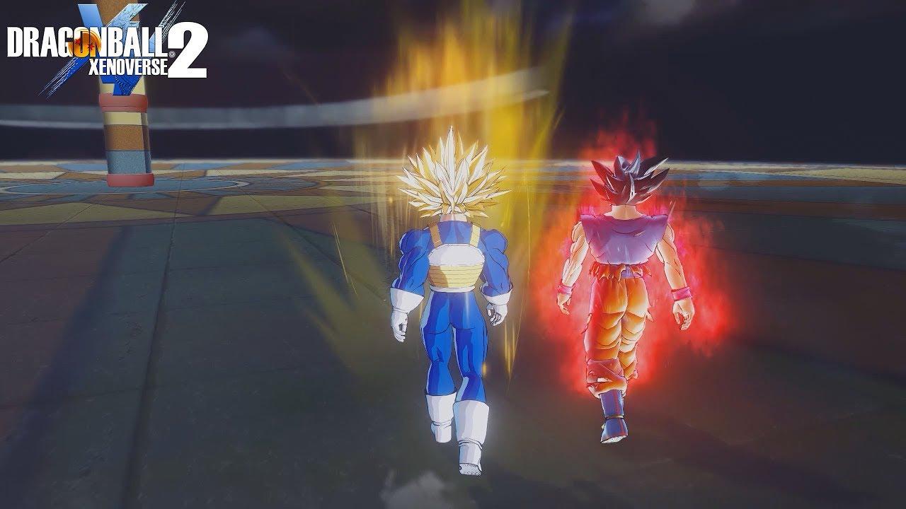 New Aura Expansion For Ultra Instinct Goku - Dragon Ball Xenoverse 2