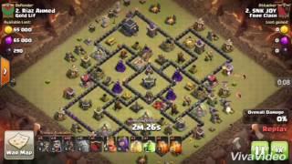Clash of Clans - How to 3 Star Using GOWIPE (TH9 Special)