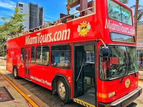 Miami Double Decker Bus Tour + Miami Boat Tour
