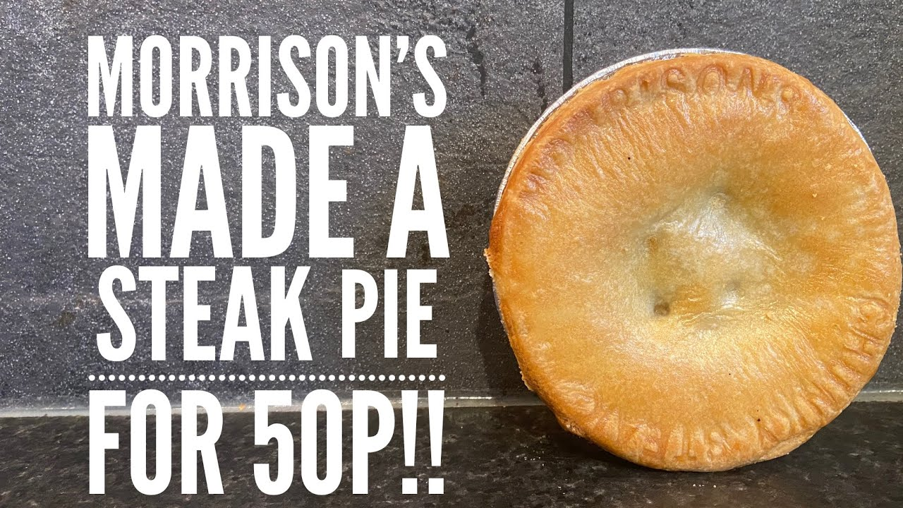 Morrison's Chunky Steak Pies For 50P!! - YouTube