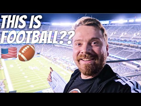 SCOTTISH REACTION TO AMERICAN FOOTBALL 🏈
