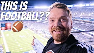 SCOTTISH REACTION TO AMERICAN FOOTBALL 🏈 thumbnail