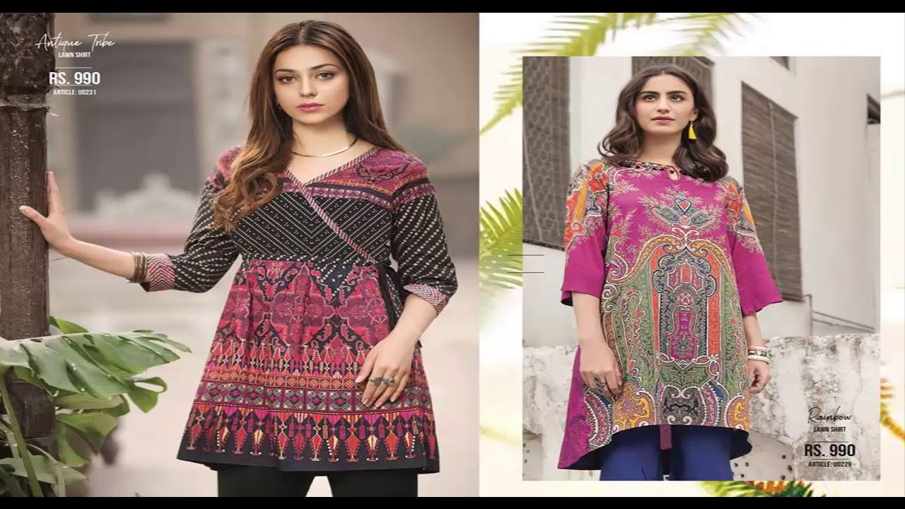 8aeeb13b79e Limelight Lawn S Summer Unstitched Collection 2018 Volume 1 - YouTube