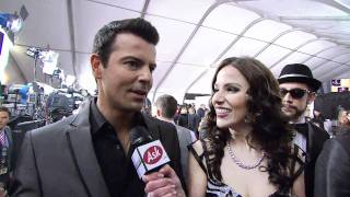 AMA 2010 Red Carpet Interview with Backstreet Boys and NKOTB
