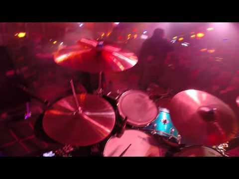 8 Track Massacre - New Years Eve 2015 - Drum Cam