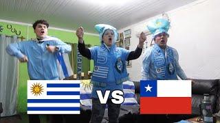 Uruguay vs Chile - REACCION FAMILIA URUGUAYA - Copa America 2021 - RESUMEN