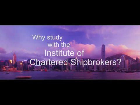 Why study with the Institute of Chartered Shipbrokers