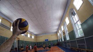 Любительский волейбол от первого лица. Volleyball
