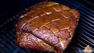 Stauferico Virginia Schinken - Virginia Ham [german Bbq Tutorial]