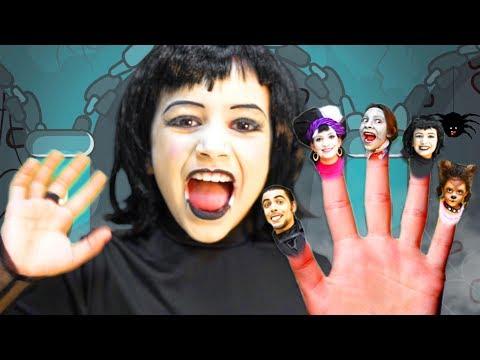 Best Finger Family Halloween Song! | Halloween Songs for Kids | Fam Jam
