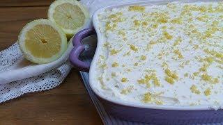 Tiramisù al limone  senza uova, facile e veloce da preparare