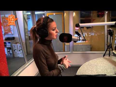 Alexandra Stan u Jutarnjem showu s Barbarom Kolar | Antena Zagreb 2012