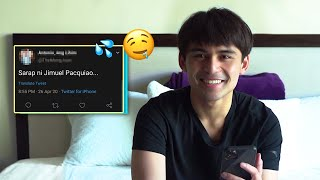 I REACT TO THIRST TWEETS AND COMMENTS | Jimuel Pacquiao