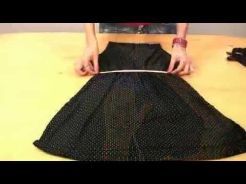 Как сшить платье быстро и модно