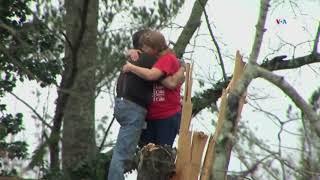 Tornados desgarran Alabama y Georgia
