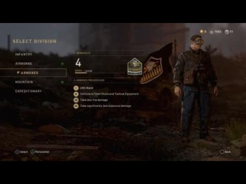 Call of Duty 2 Epic & Legendary Armory Division Uniforms - Old Ironsides & U.S. Talker