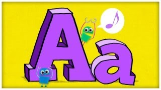 "ABC Song: The Letter A, ""Hooray For A"" by StoryBots 