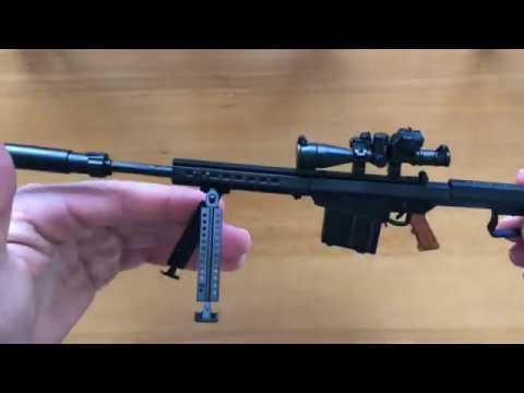 M82A1 Sniper Rifle 1:6 Scale Realistic Model Gun