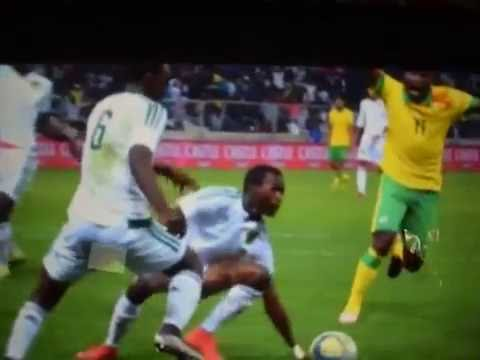SOUTH AFRICA VS MAURITANIA  1-1 (AFCON 2017 QUALIFIER) HIGHLIGHTS & GOALS