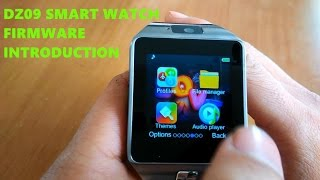 DZ09 smart watch firmware
