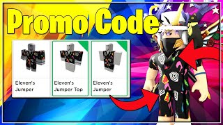 [ROBLOX PROMO CODE] HOW TO GET AN ELEVEN'S JUMPER OUTFIT! ROBLOX PROMO CODE JULY *WORKING*