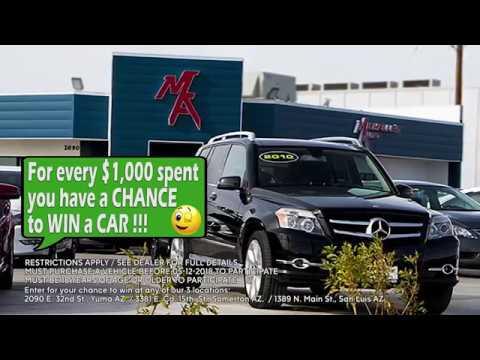Giveaway Auto Sales >> Michelles Auto Sales Giveaway Promotion English 1 X30