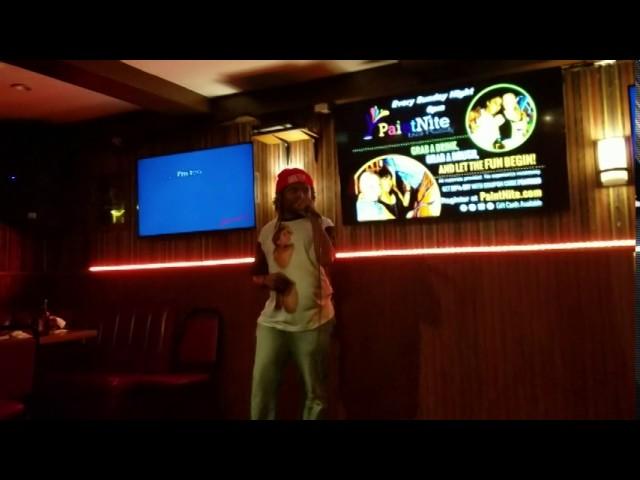 Rawstarr at Karaoke - Im too sexy